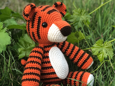 crochet Thomas the Tiger free pattern