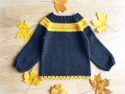 crochet Tullalah Sweater easy pattern