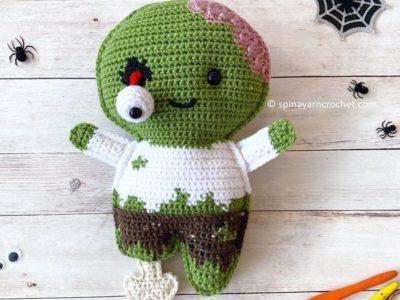 crochet Zombie amigurumi free pattern