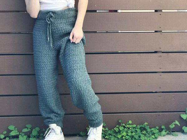 Crochet Not For Jogging Jogger Pants