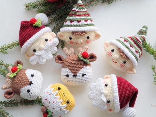 crochet Crochet Christmas decoration easy pattern