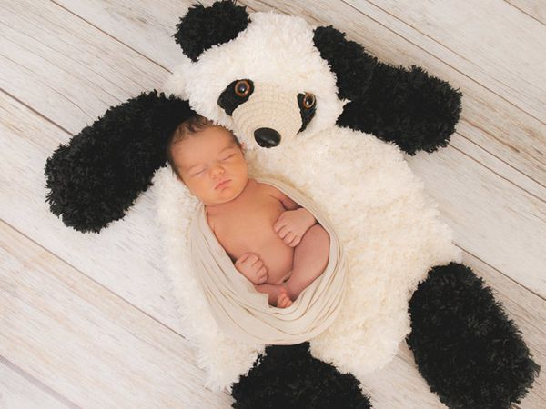 crochet Faux Bear Nursery Rug easy pattern