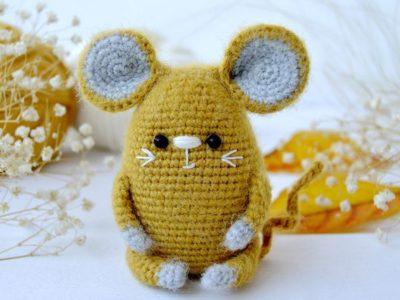 crochet Little Mouse free pattern