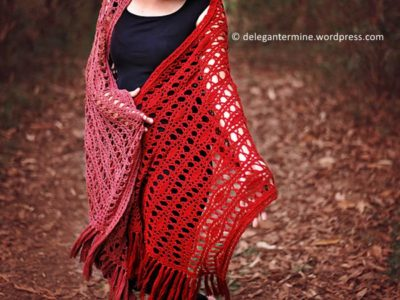 crochet Provenance Wrap free pattern