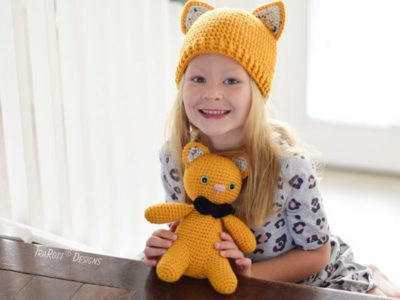 crochet Pumpkin The Cat And Hat easy pattern