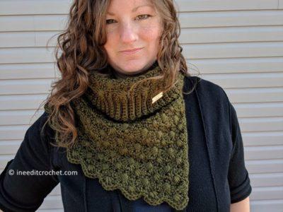 crochet The Amphitrite Cowl free pattern