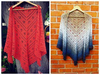 crochet Vintage Vibes Shawl free pattern
