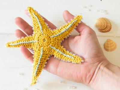 Crochet Starfish easy pattern