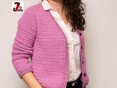 CROCHET Lavender Jacket free pattern