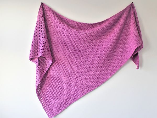 crochet Brielle Shawl free pattern