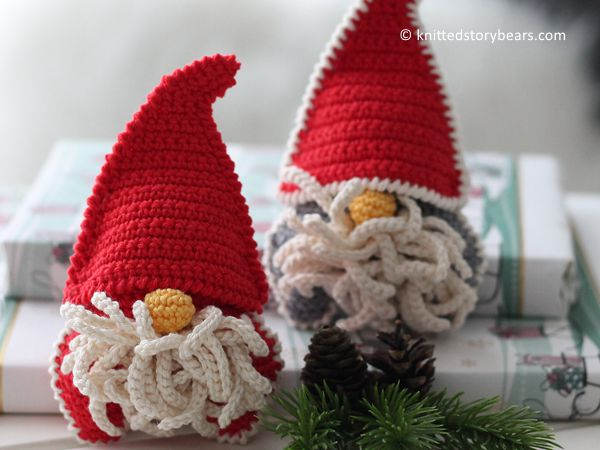 crochet Christmas Gnome free pattern
