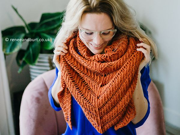 crochet Cinnamon Sweaters Shawl free pattern