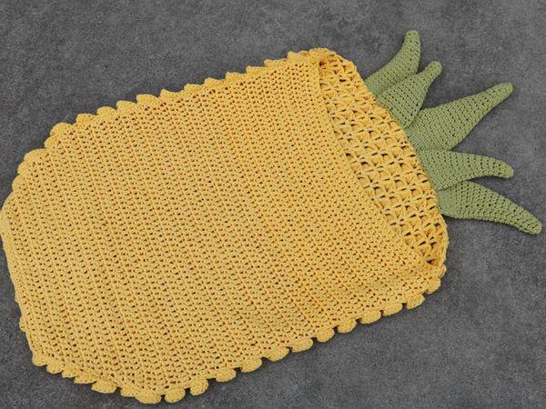 crochet Crochet Pineapple Blanket easy pattern
