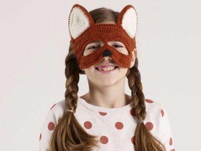 crochet Dingo Mask free pattern