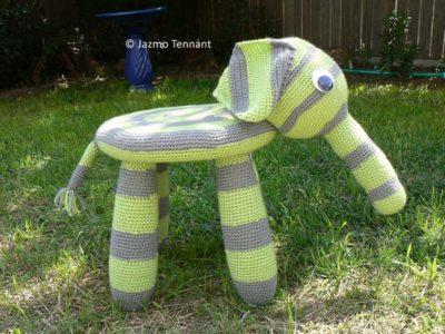 crochet Elephant Chair free pattern