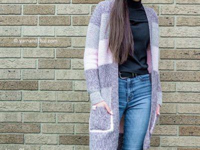 crochet Eva Cardigan free pattern