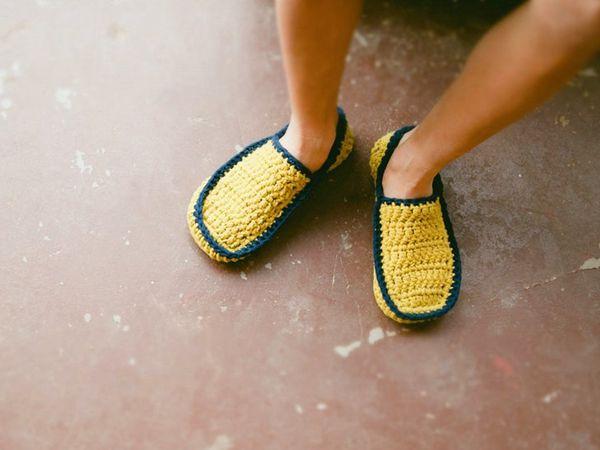 crochet House Slipper easy pattern