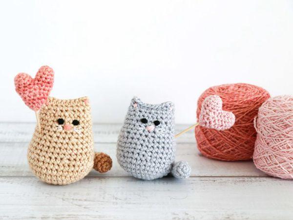 crochet Ltty Bitty Valentine Kitty free pattern