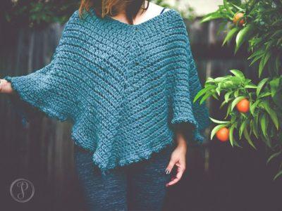 crochet Marlo Cape free pattern