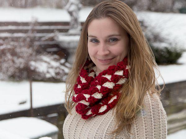 crochet Meira Cowl free pattern