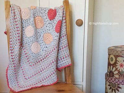 crochet Peachy Keen Blanket free pattern