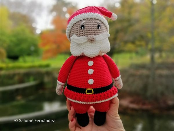 crochet Santa Claus free pattern