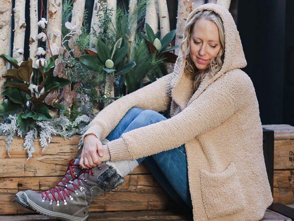 crochet Sherpa Sweater free pattern