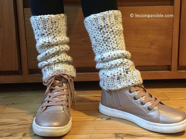 crochet Side to Side Legwarmers free pattern