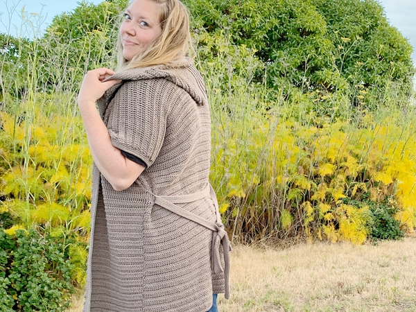 crochet The Waverly Hooded Cardigan free pattern
