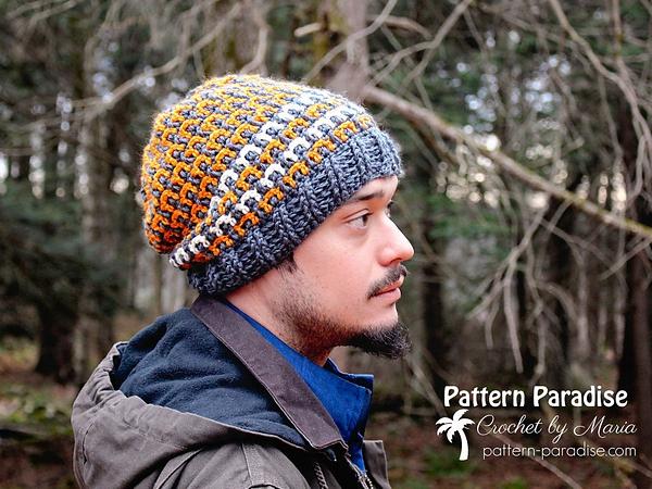 crochet Winston Hat free pattern