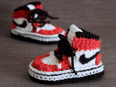 Crochet Baby Sneakers easy Pattern