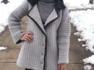 Hearth Side Crochet Jacket easy pattern
