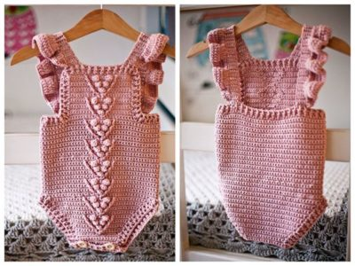 crochet Berry Romper free pattern