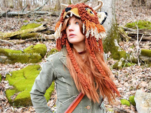 crochet Forest Guide Hat free pattern