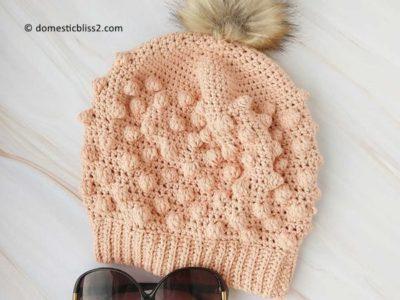 crochet HANNA SLOUCHY BEANIE pattern