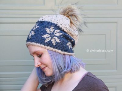 crochet It's Never Too Late for Snowflakes free pattern
