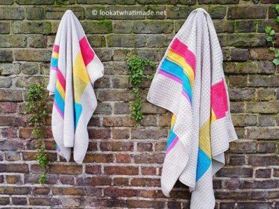 crochet Simple Joy Blanket free pattern
