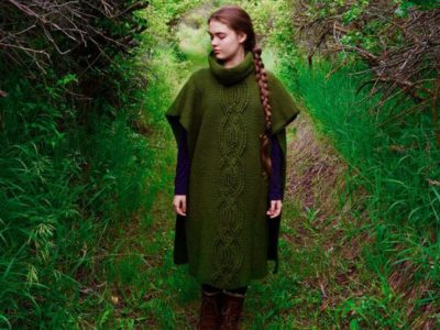 crochet The Shire Poncho easy pattern