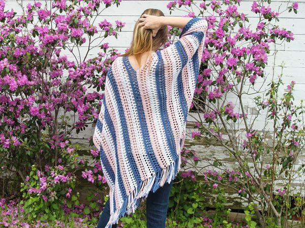 crochet Thea Poncho free pattern