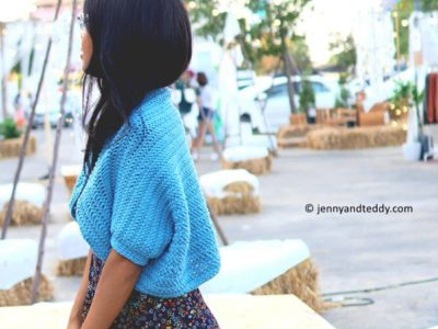 easy crochet everyday shrug tutorial