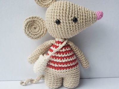 CROCHET the tooth mouse free pattern
