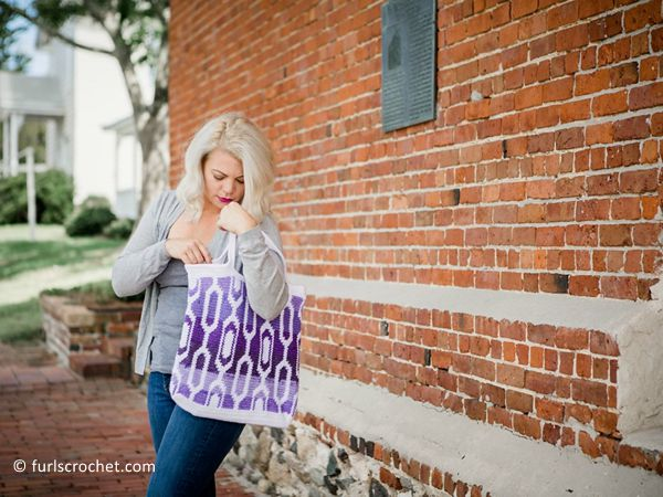 crochet Cecelia Tapestry Bag free pattern
