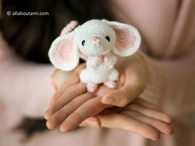 crochet Chinese New Year Rat free pattern