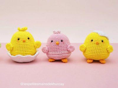 crochet Chip Chip Amigurumi free pattern