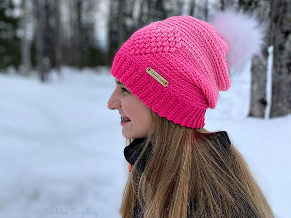 crochet My Love Beanie free pattern
