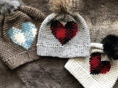 crochet Plaid About You Beanie easy pattern