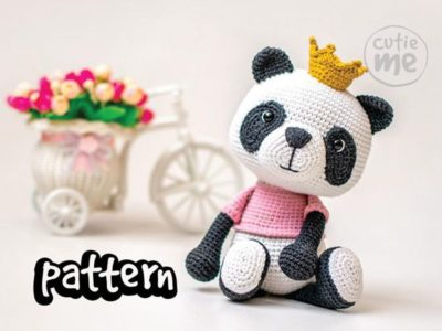 crochet Susie the Panda easy pattern