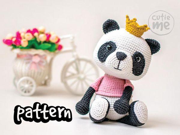 crochet Susie the Panda easy pattern