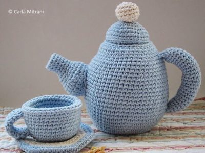crochet Tea set free pattern