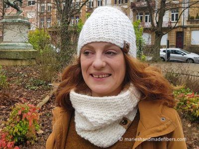 crochet The Bianca Hat Headband free pattern